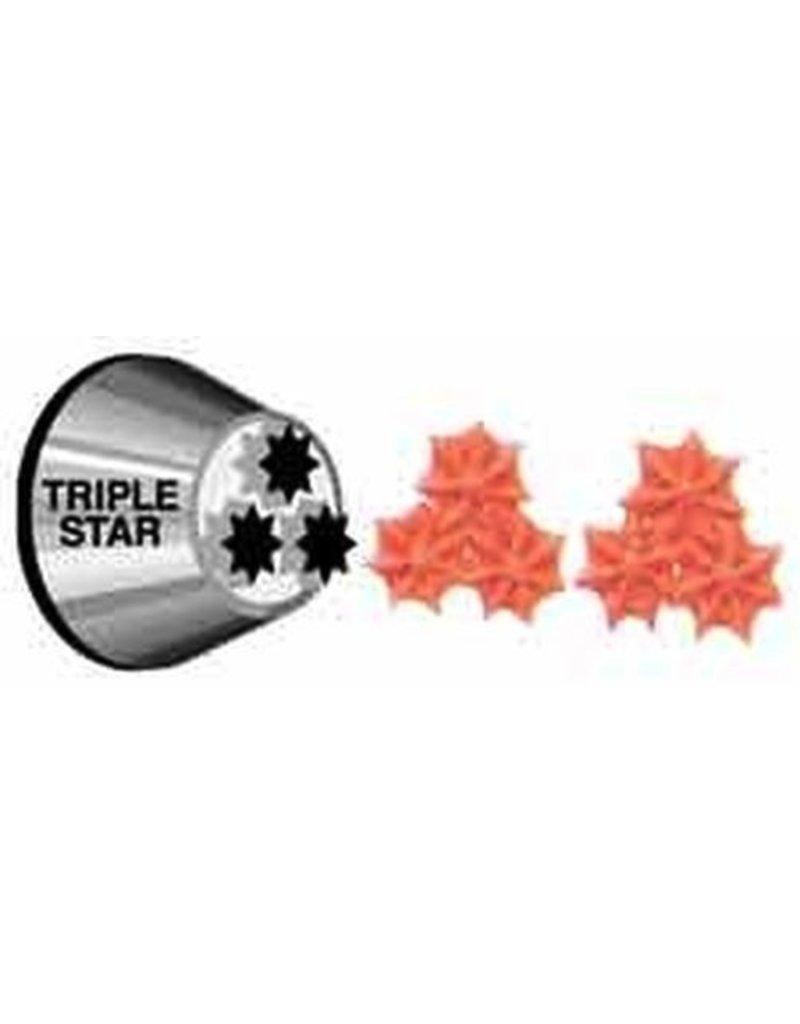 WILTON ENTERPRISES #2010 TRIPLE STAR TIP