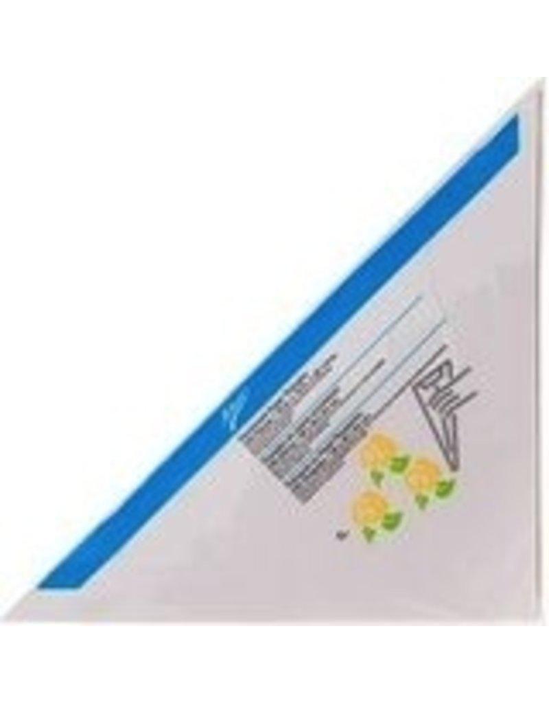 ATECO PARCHMENT PAPER TRIANGLE 15X15X21'' PKG 100 CT
