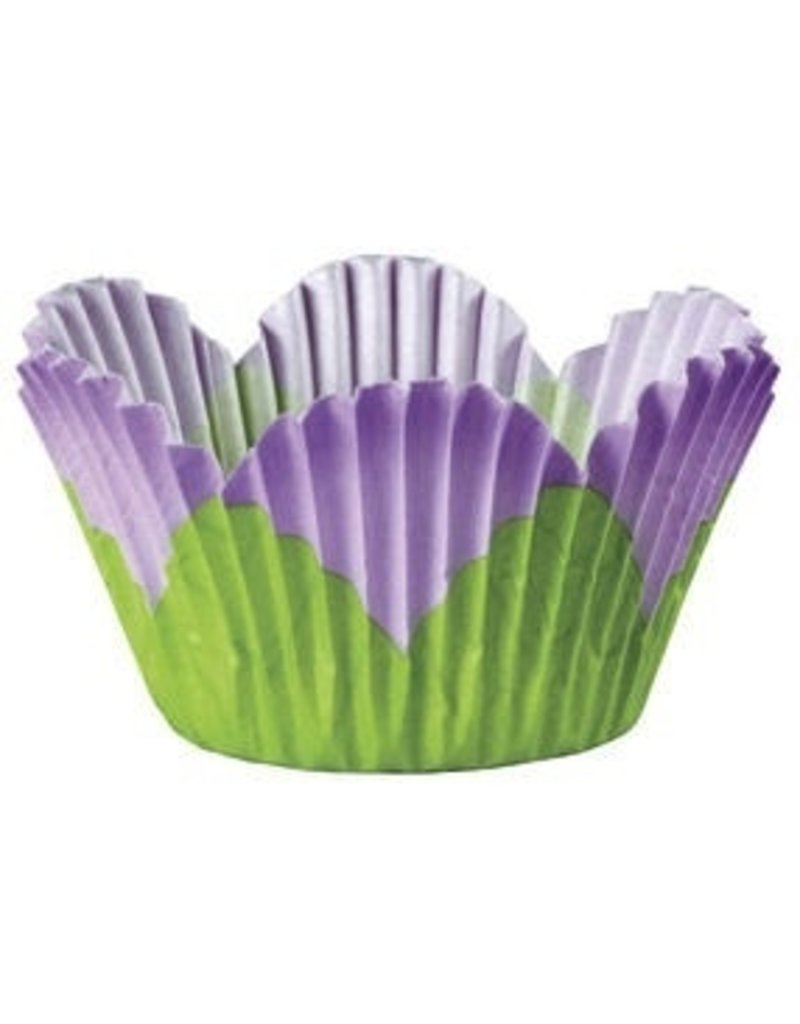 WILTON ENTERPRISES LAV PETAL STD BAKING CUP 24 CT