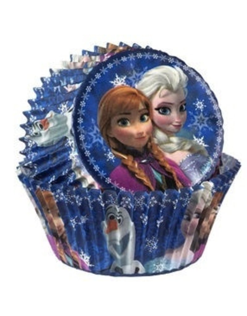 "WILTON ENTERPRISES 2"" DISNEY FROZEN STD BAKING CUP  PKG 50 CT"