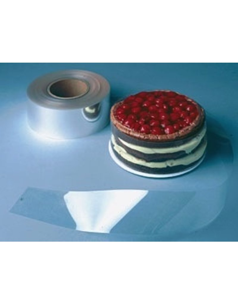 PFEIL & HOLING CAKE COLLAR PL CLEAR 2 1/2'' X 28.5'' 200 CT