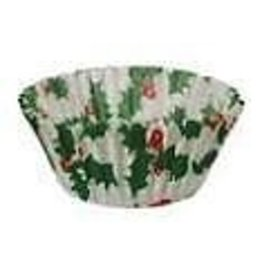 ATECO HOLLY WAX PAPER BAKING CUP 1'' PKG 200 CT