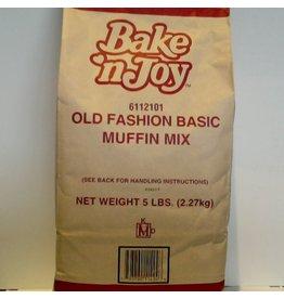 BAKE' N JOY OLD FASHION BASIC MUFFIN MIX CS 6/5 LB