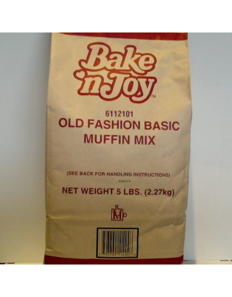 BAKE' N JOY OLD FASHION BASIC MUFFIN MIX CS 6/5 LB