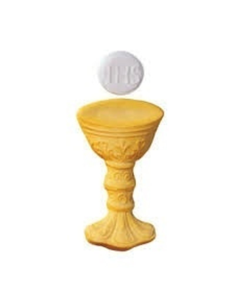 LUCKS FOOD DECORATING CHALICE & HOST SET SUGAR 4 1/2'' BOX 18 CT   LUCKS