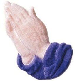 PFEIL & HOLING PRAYING HANDS LAVENDER SUGAR 4 1/4'' BOX 16 CT   P&H