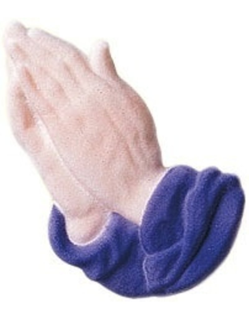 PFEIL & HOLING PRAYING HANDS LAVENDER SUGAR 4 1/4'' BOX 16 CT   P&H