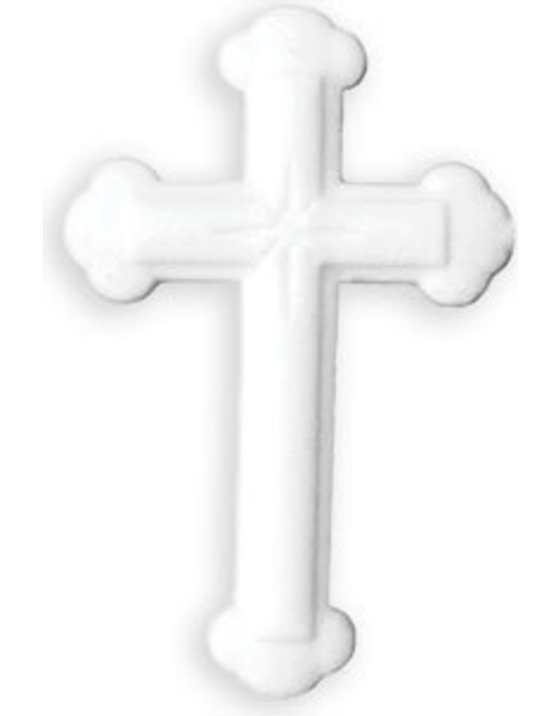 PFEIL & HOLING LG ORNATE WHITE CROSS SUGAR 4 1/4'' BOX 16 CT   P&H