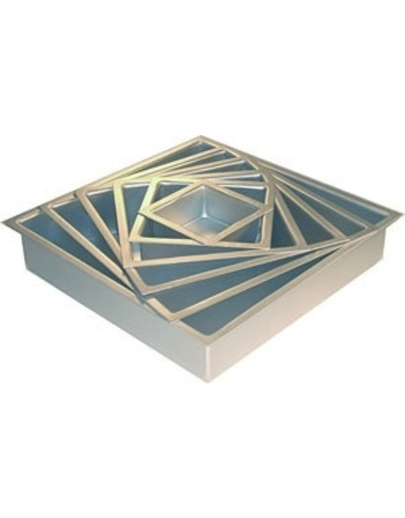 PFEIL & HOLING 6 X 6 X 3'' SQ ALUMINUM PAN