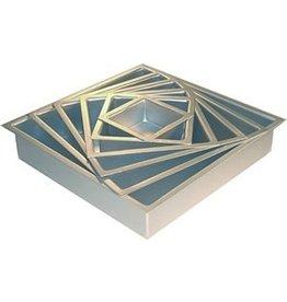 PFEIL & HOLING 8 X 8 X 3'' SQ ALUMINUM PAN