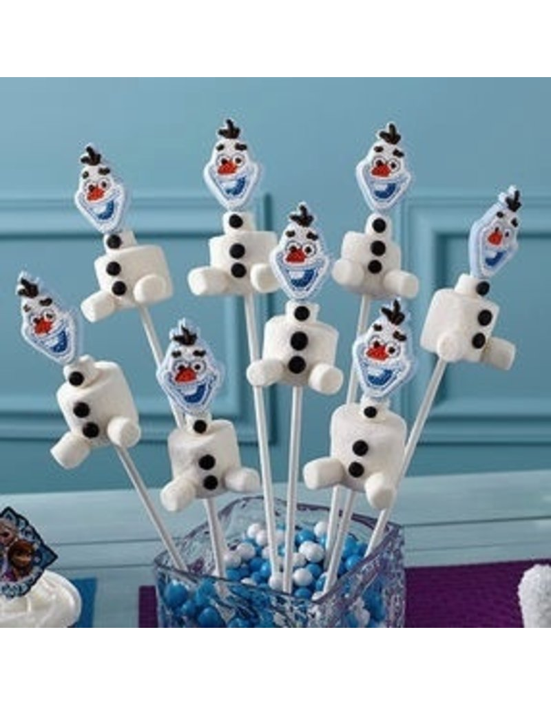WILTON ENTERPRISES DISNEY FROZEN ICING DECORATIONS PKG 12 CT