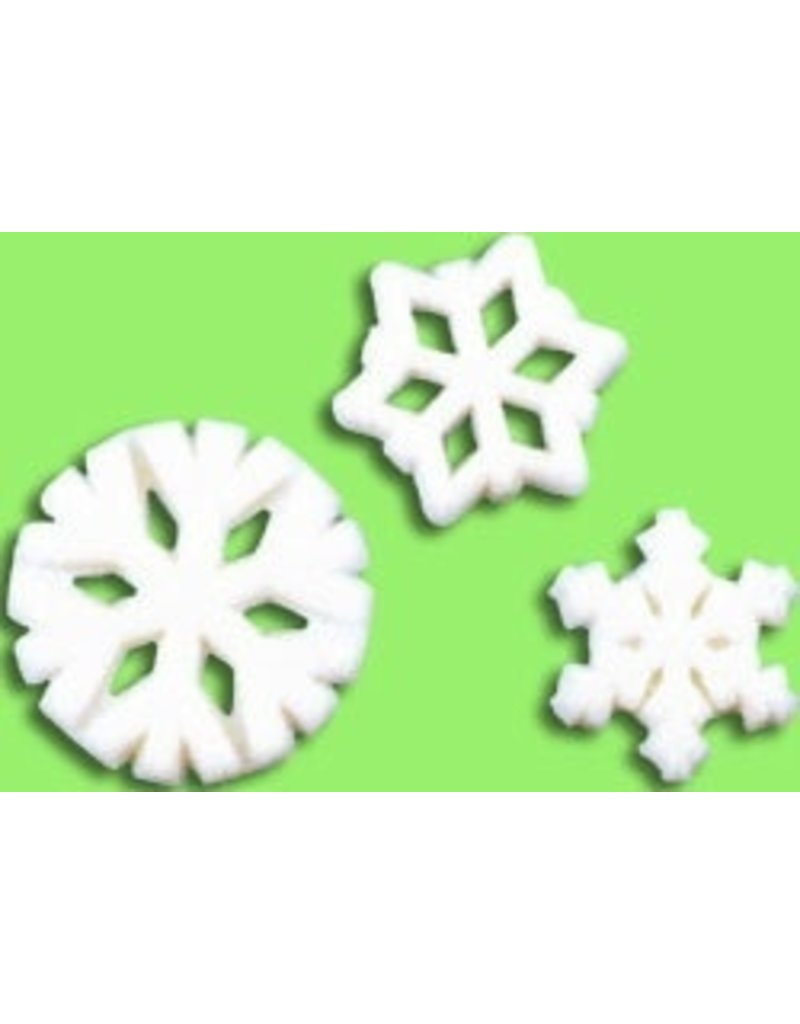 PFEIL & HOLING SNOWFLAKE SUGAR ASST  3/4''- 1 1/4'' BOX 138 CT P&H