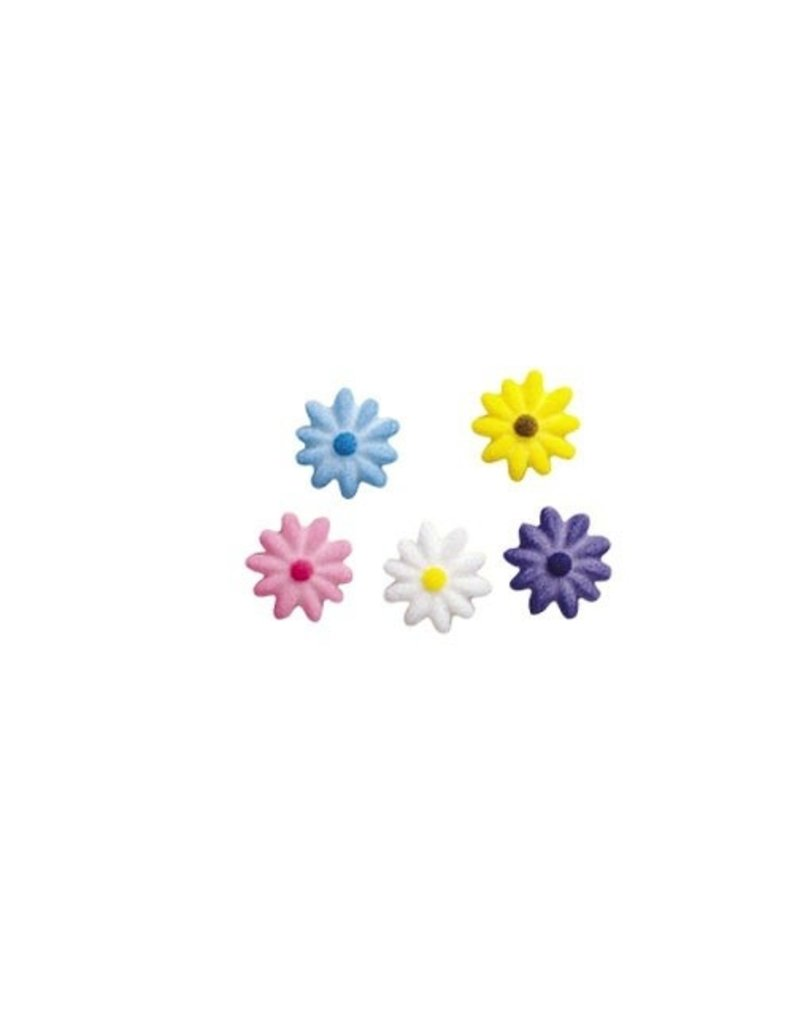 LUCKS FOOD DECORATING DAISIES ASST 3/4'' BOX 675 CT   LUCKS