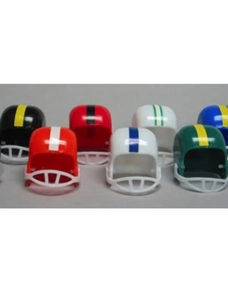 PFEIL & HOLING FOOTBALL HELMETS ASST 1-1/2'' PKG 12 CT