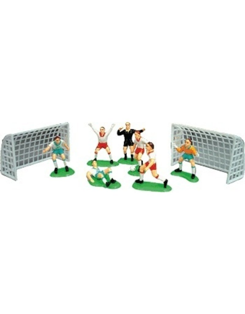 PFEIL & HOLING SOCCER PLAYERS - 7PC W/2 GOALS EA