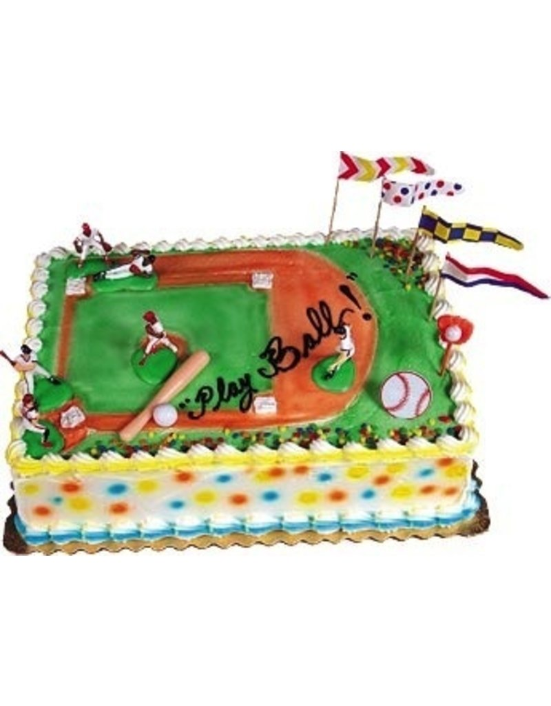 PFEIL & HOLING BASEBALL GRAND SLAM CAKE KIT EA