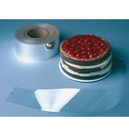 PFEIL & HOLING CAKE COLLAR ROLL CLEAR 3'' X 500'