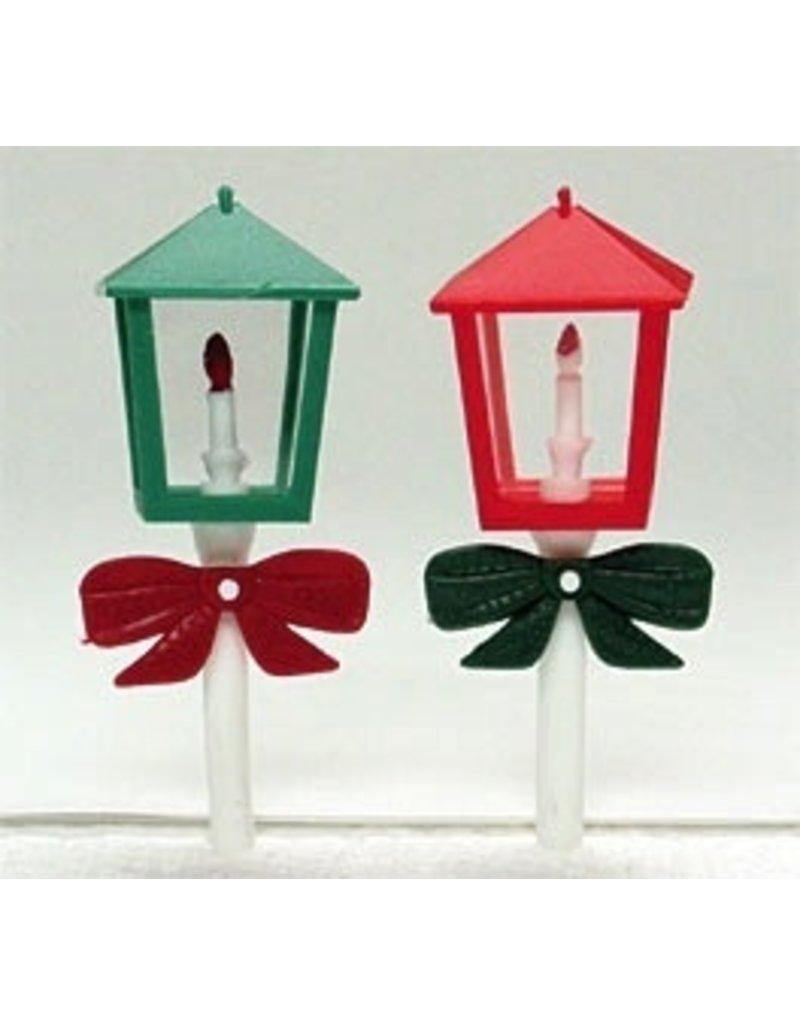 PFEIL & HOLING LANTERNS RED & GREEN ASST 4½'' BOX 36 CT