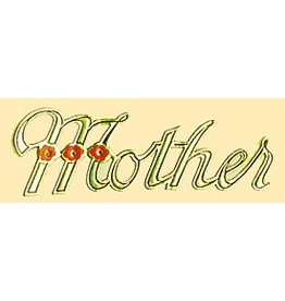 PFEIL & HOLING ''MOTHER'' FOIL SCRIPT 3¾'' PKG 100 CT