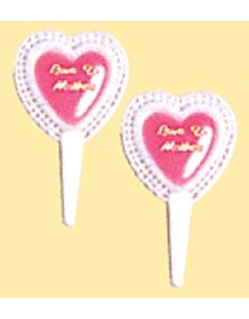 PFEIL & HOLING ''LOVE TO MOTHER'' PICKS 2 3/4'' BOX 144CT
