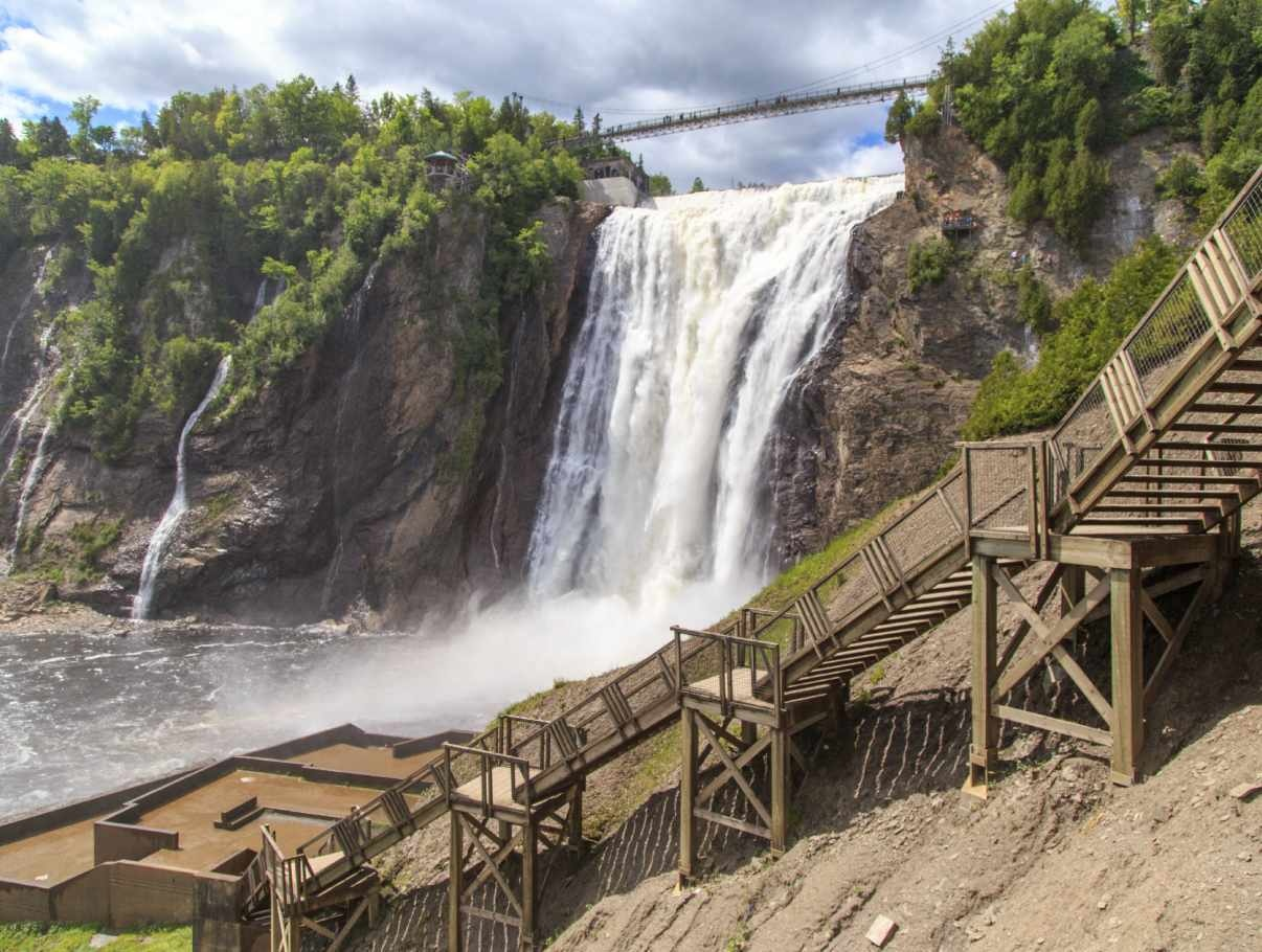 Tour guidé à vélo ,  Majestueuse Montmorency, 90$