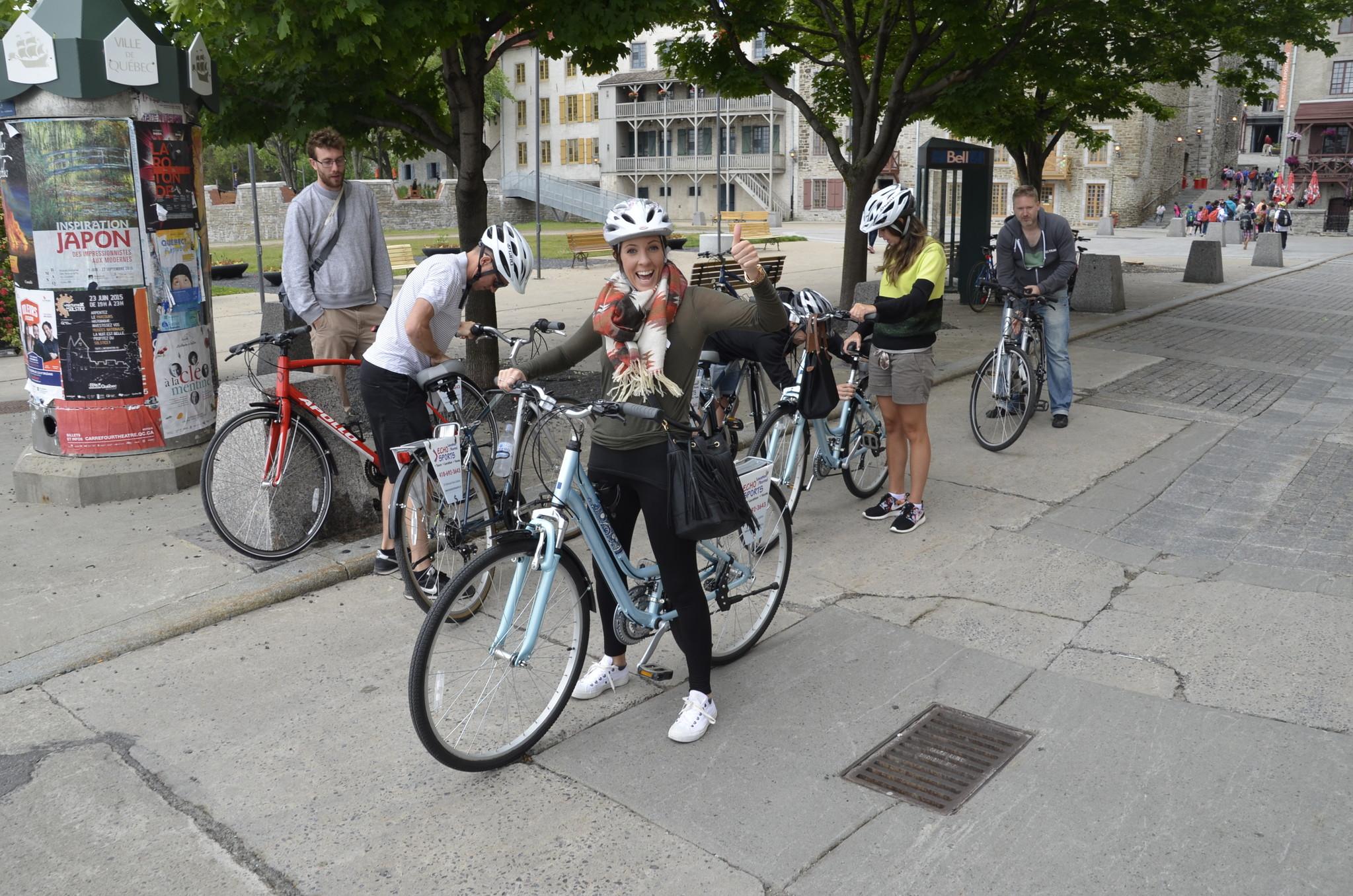 Ville et croisière tour guidé à vélo, 135$