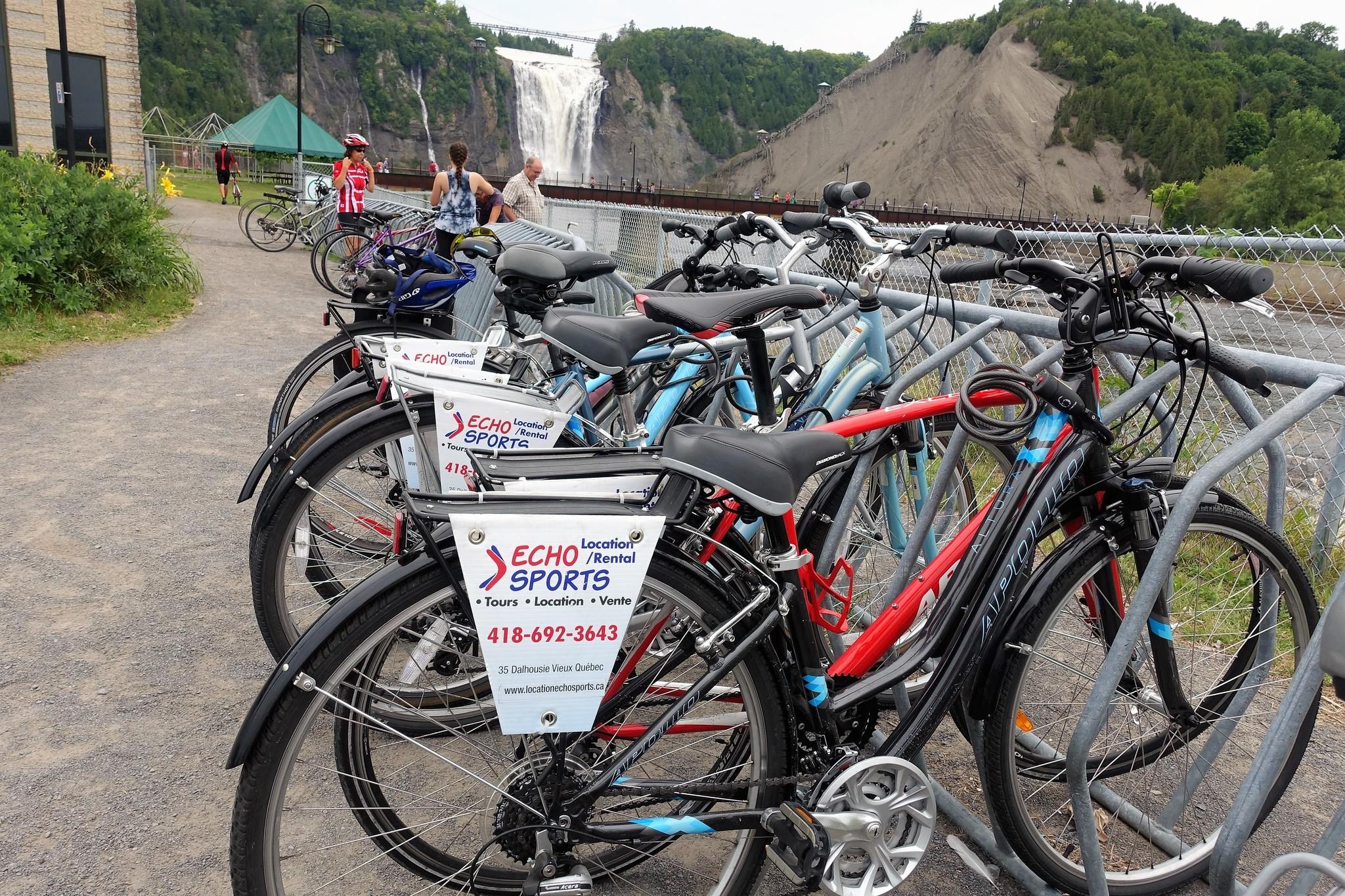 Tour guidé à vélo électrique,  Majestueuse Montmorency, 80$