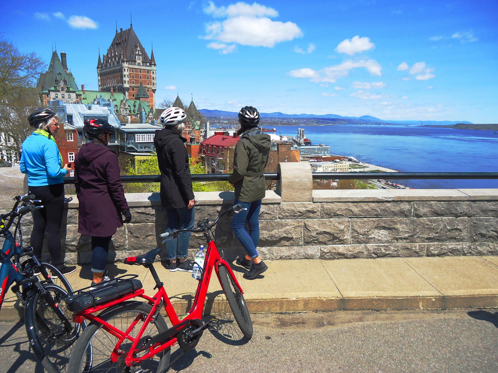 Tour guidé de vélo électrique de Québec