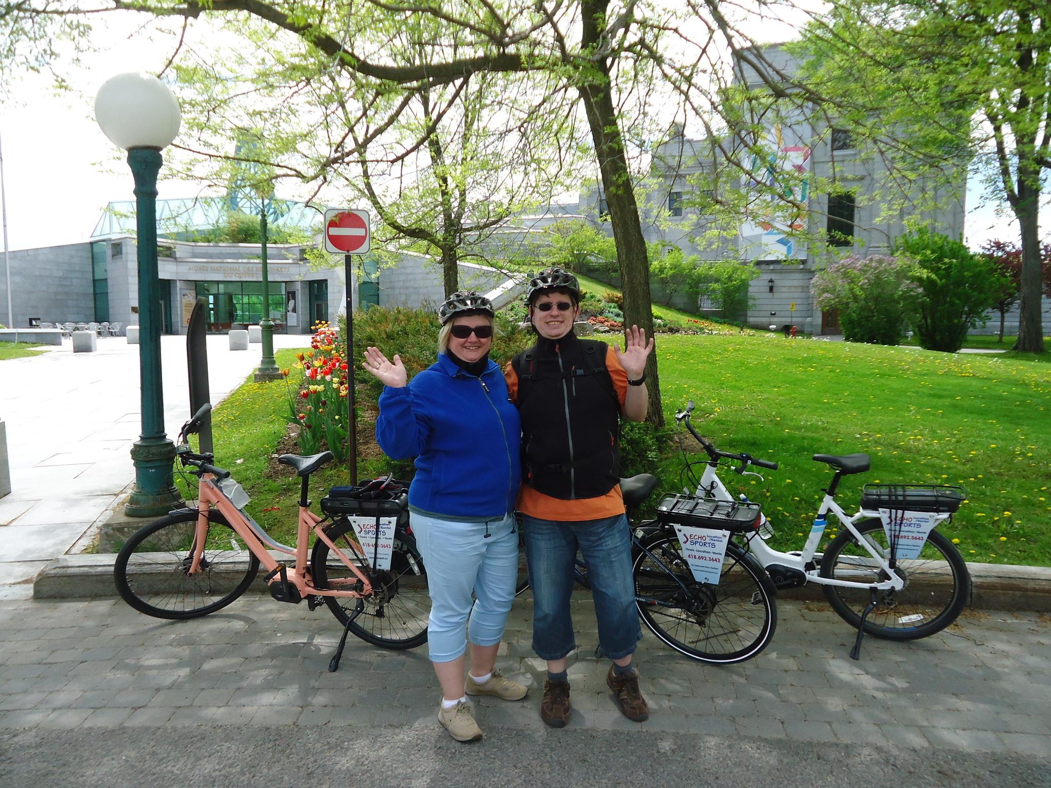 Québec electric bike tour, 95$