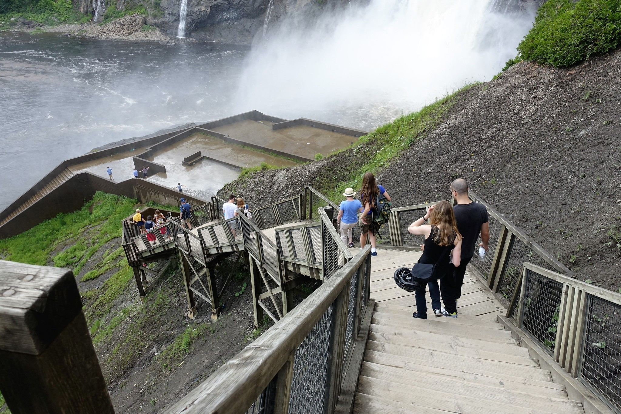 Montmorency waterfalls bike tour for schools, 26,95$