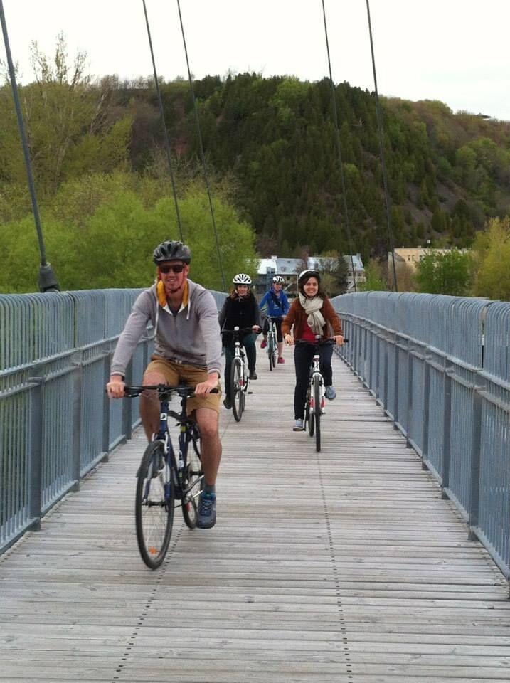 Tour guidé à vélo Québec au fil de l'eau pour groupes scolaires, 16,95$