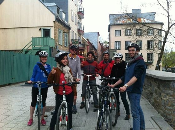 Québec along the river bike tour for schools, 16,95$
