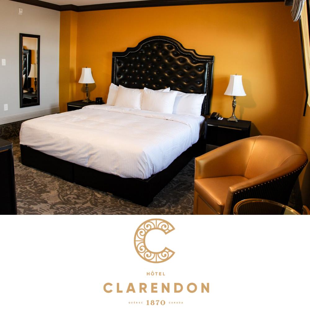 Hôtel Clarendon forfait chambre et visite guidée à vélo électrique