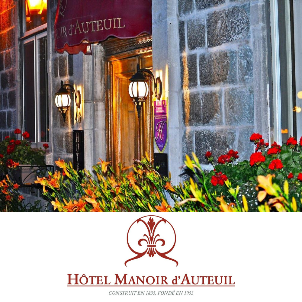 10% off  bike rental  & guided tours for d'Auteuil Manor's  guests