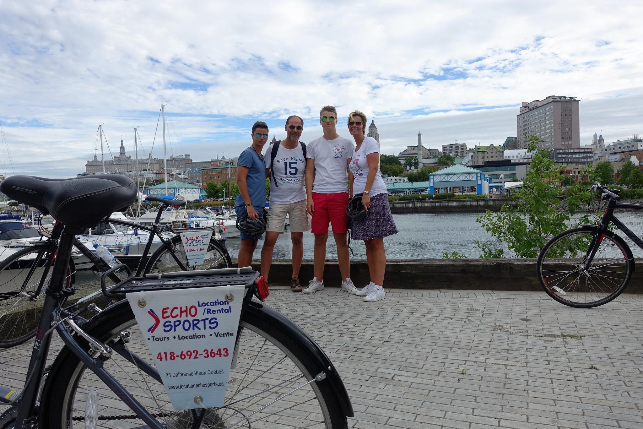 Ville et croisière tour guidé à vélo - avec votre vélo personnel, 120$