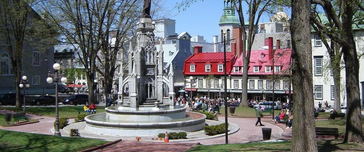 Place d'Armes Vieux Québec