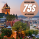 Book 2 nights  in a Quebec city's hotel and  and get a 75$ gift certificate
