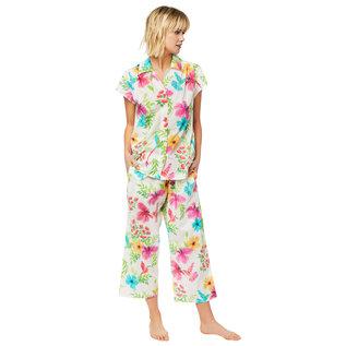 Cat's PJs Cat's Pajamas 360 Woven Capri PJ Set