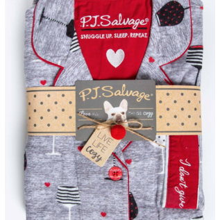 PJS  F20 Flannel PJ Set