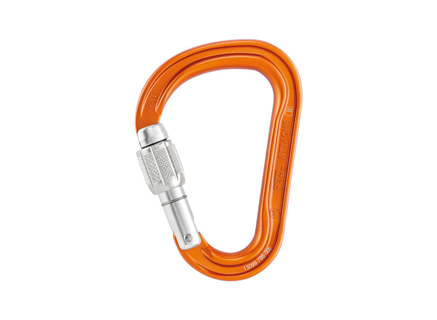 Petzl Attache Screw Locking Carabiner