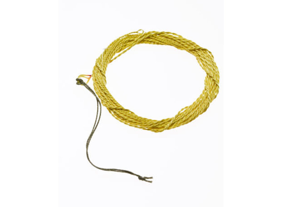Tenkara USA Tenkara Furled Tapered Line Yellow 11ft