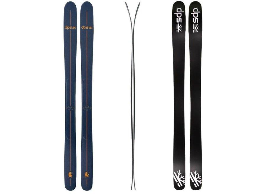 DPS Skis Tour Powderworks Wailer 100RP 19/20 184cm Phthalo Blue