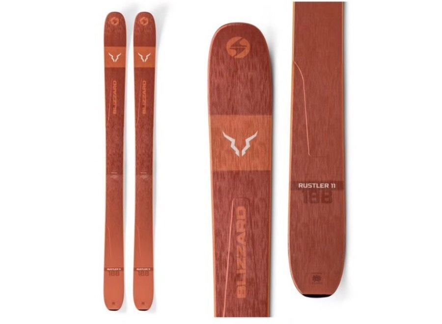 Blizzard Rustler 11 Skis 19/20 180cm