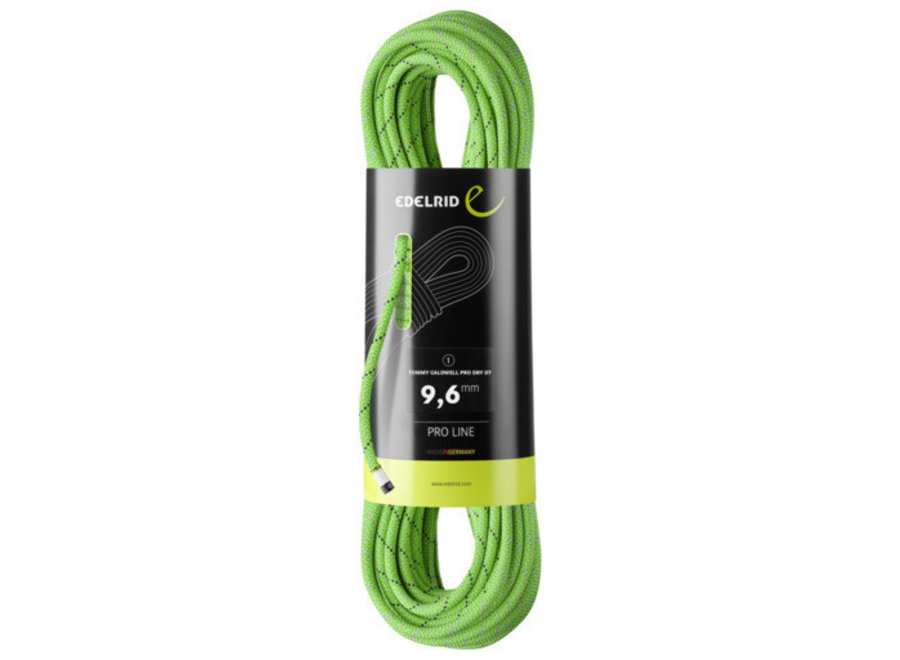 Edelrid Tommy Caldwell Pro Dry Climbing Rope 9.6mm