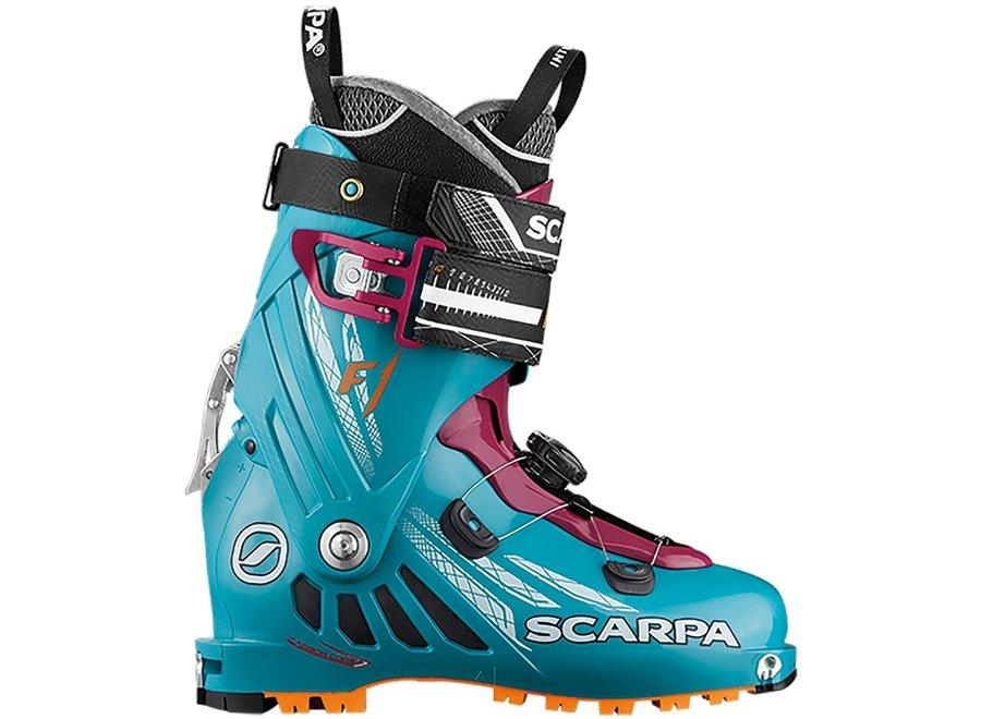 Scarpa Women's F1 Boot 23.0 Arcticblue/Purple 17/18 Clearance