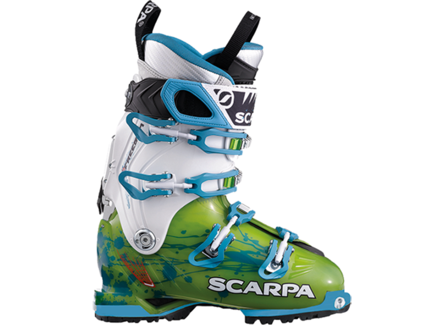 Scarpa Women's Freedom SL Boot 22 Limeturq 15/16 Clearance