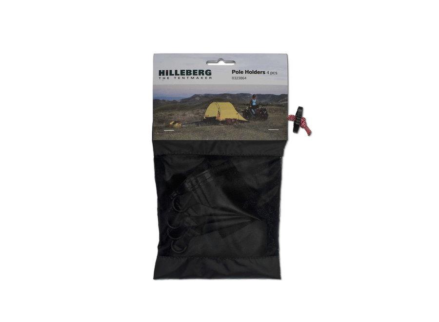 Hilleberg Pole Holder for Inner Tent 4-Pack