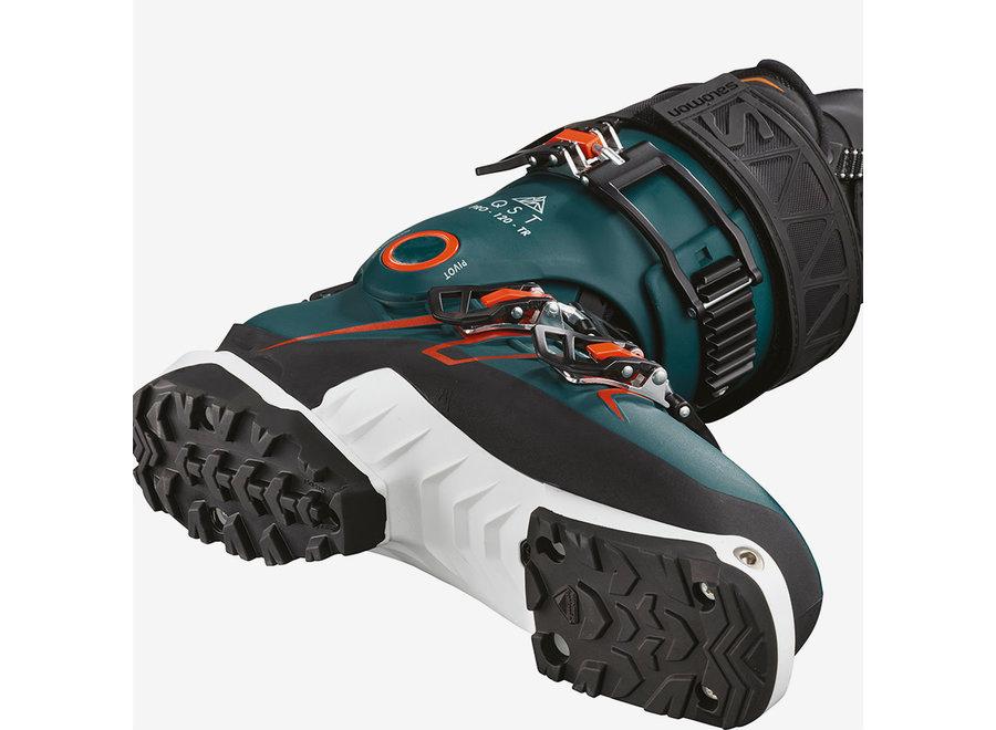 Salomon QST Pro 120 TR Boot 29 Blue/Black/Orange 19/20 Clearance