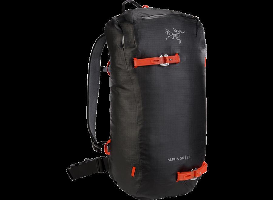 Arc'teryx Alpha Sk 32 Snow Pack Black / Size Reg