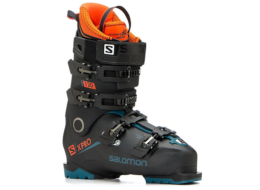 Salomon X Pro 120 Boot 28 Black/Blue/Orange 18/19